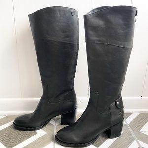 New Patricia Nash Loretta Black Riding Boots